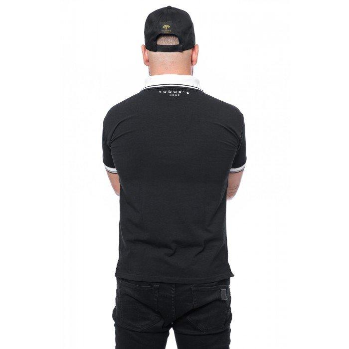 TUDOR'SHOME - T-shirt Polo - Black Man