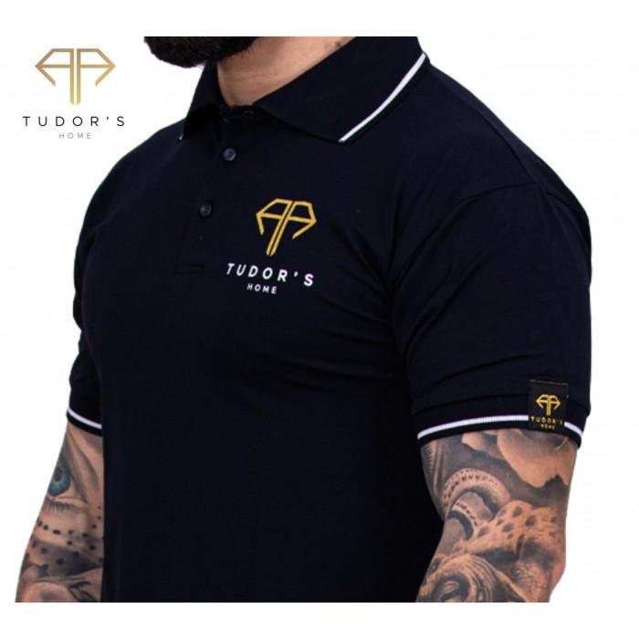 TUDOR'SHOME - T-shirt Polo - Navy Man