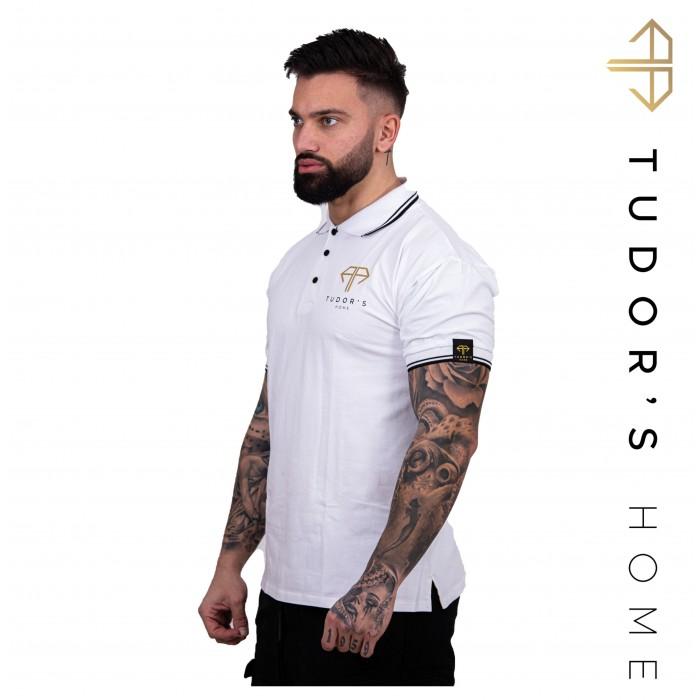 TUDOR'SHOME - T-shirt Polo - White Man