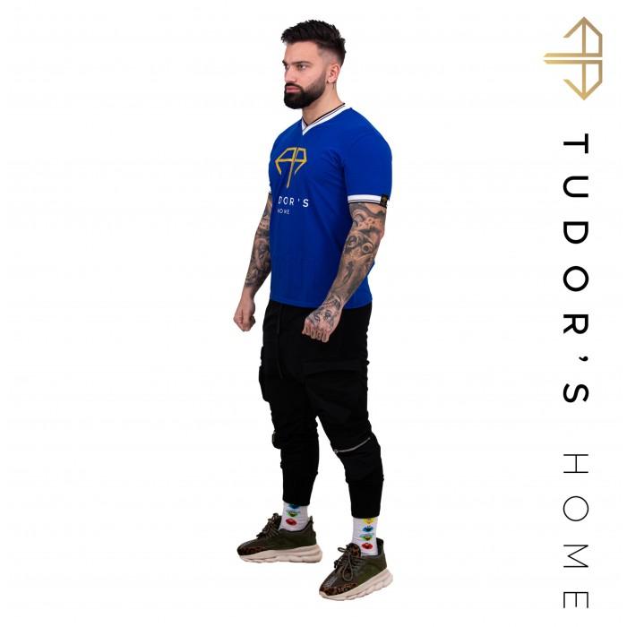 TUDOR'SHOME - T-shirt V - Blue Man