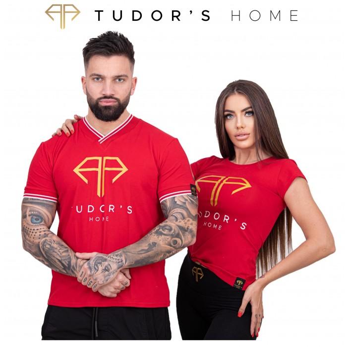 TUDOR'SHOME - T-shirt V - Red Man