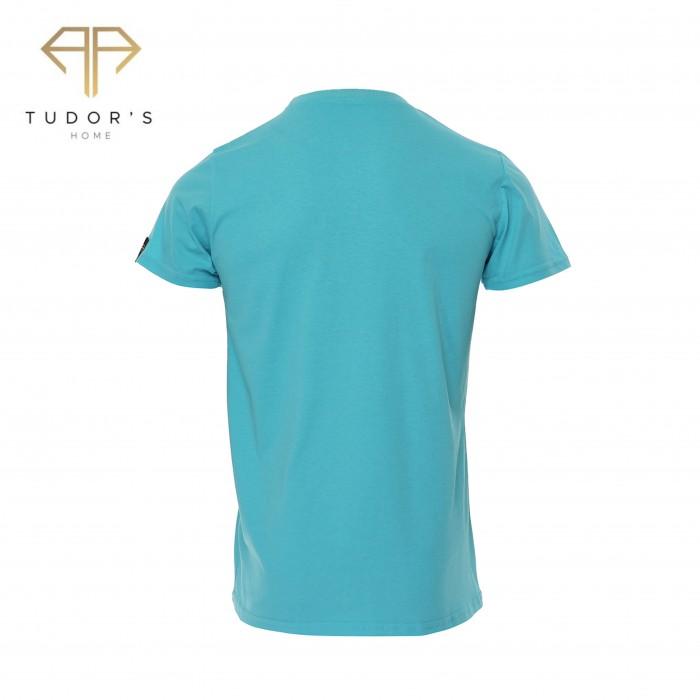 TUDOR'SHOME - T-shirt Basic - Blue Man