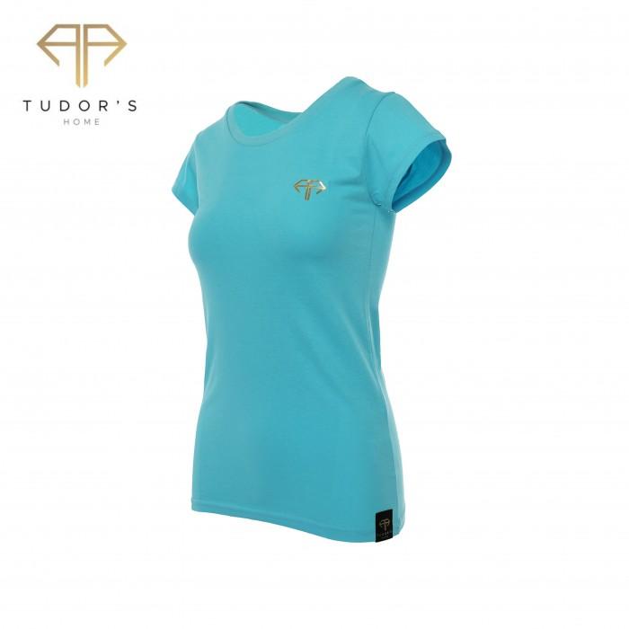 TUDOR'SHOME - T-shirt - BlueWomen
